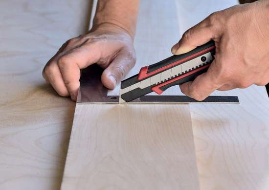 Making Clean Cuts on Laminated Plywood