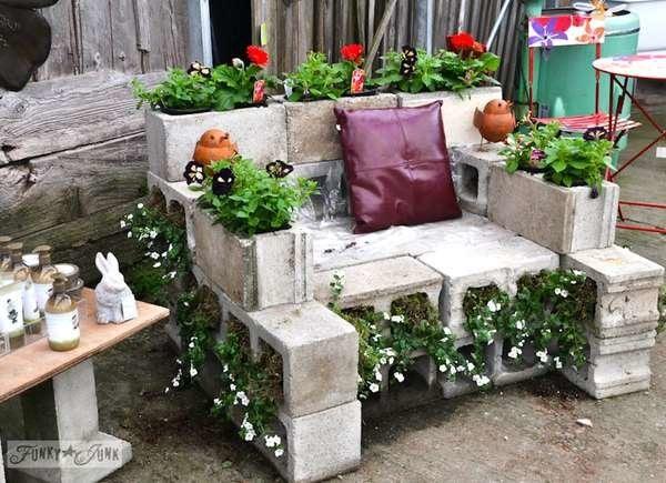 Groovy Cinder Block Furniture 8 Easy Diy Ideas Bob Vila Creativecarmelina Interior Chair Design Creativecarmelinacom