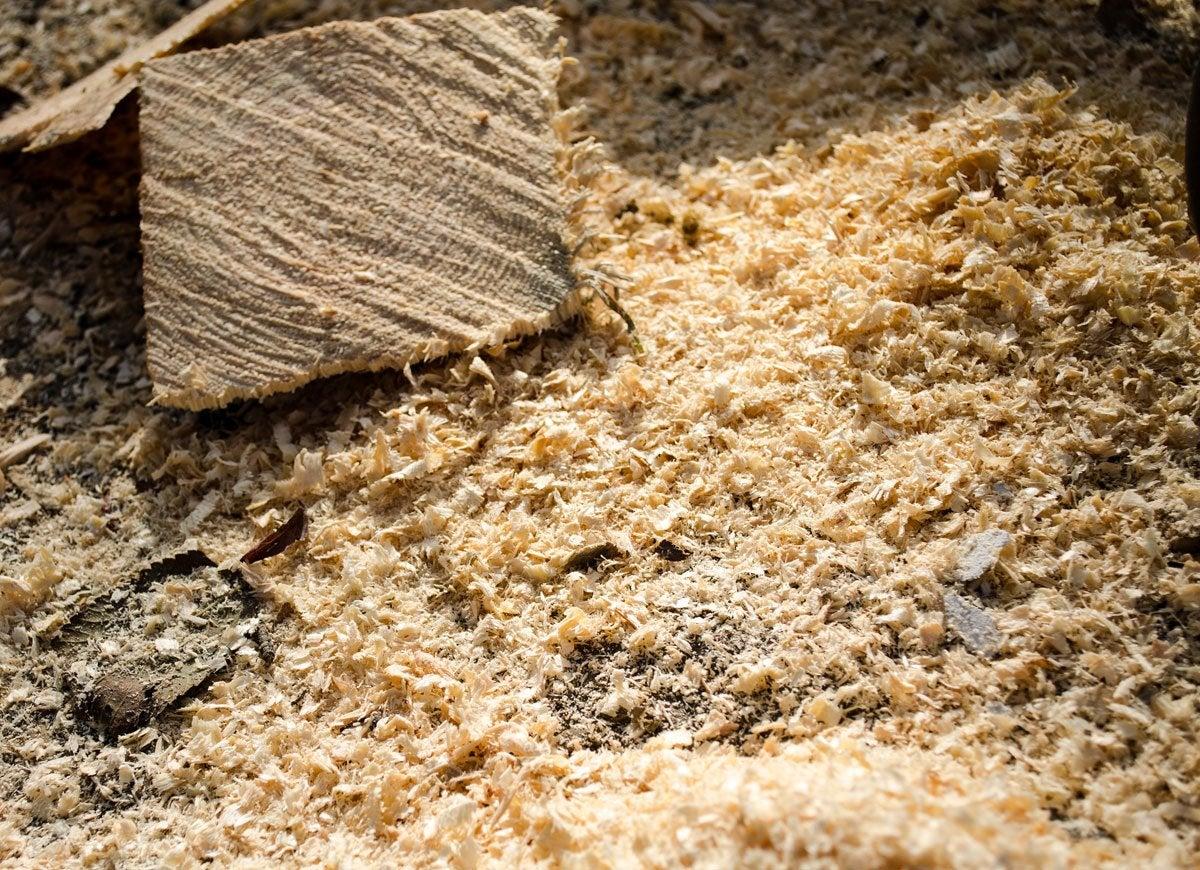 Sawdust heat