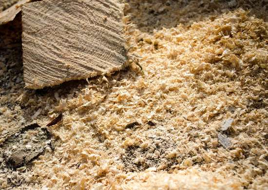 Use Sawdust to Fuel Fire