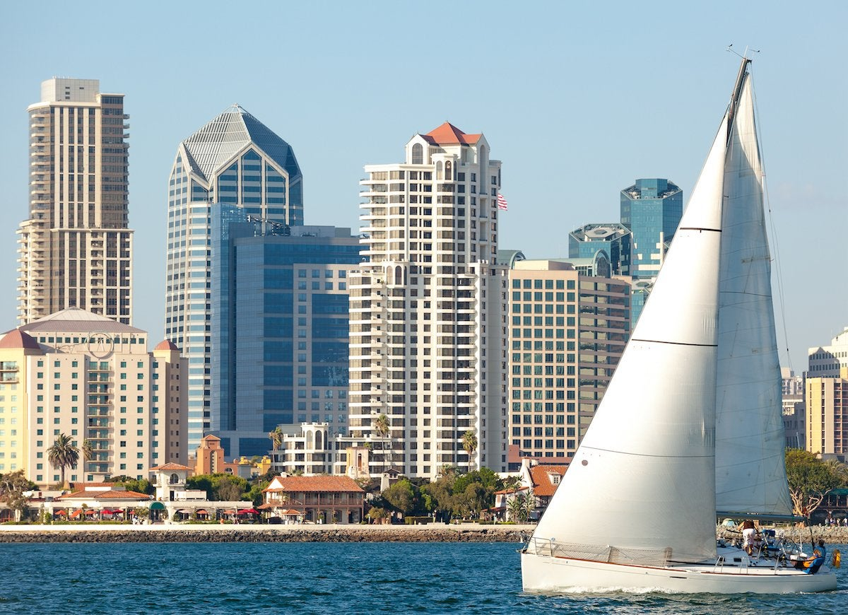 San diego staycation