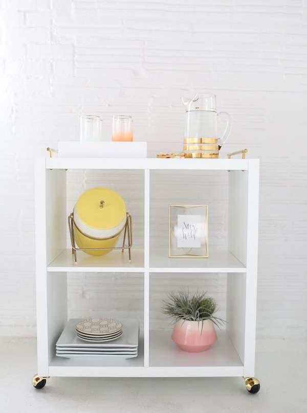 Wondrous 9 Unconventional Ikea Shelves Hacks Bob Vila Home Interior And Landscaping Eliaenasavecom