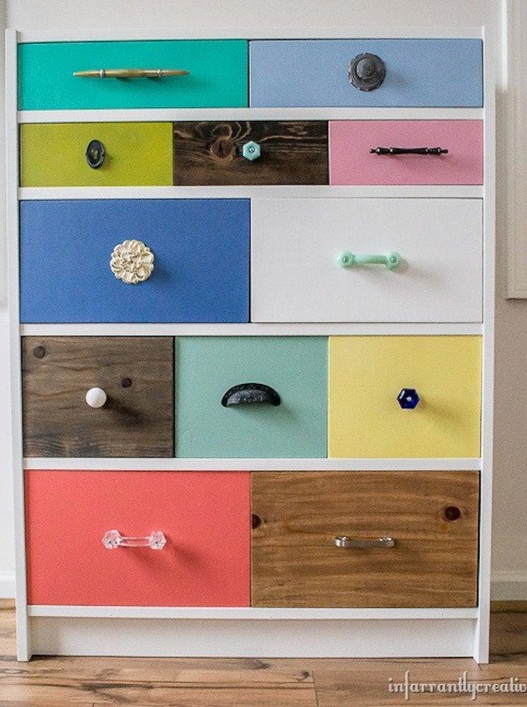 Ikea shelves hack billy