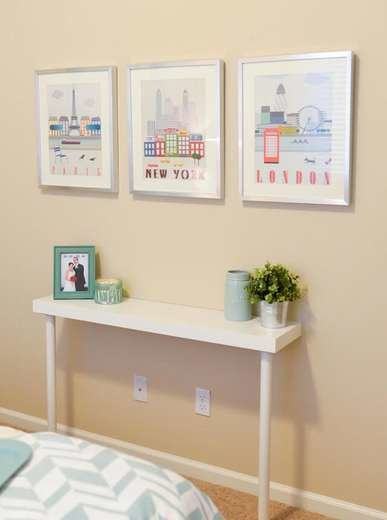 Vertical Console Table ~ Unconventional ikea shelves hacks bob vila