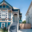Small Victorian House in California