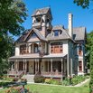 The Allyn Mansion in Delavan, Wisconsin