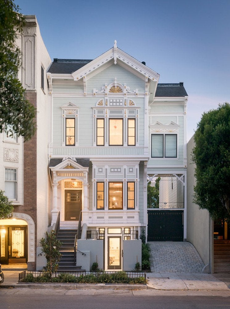 San Francisco Victorian Home