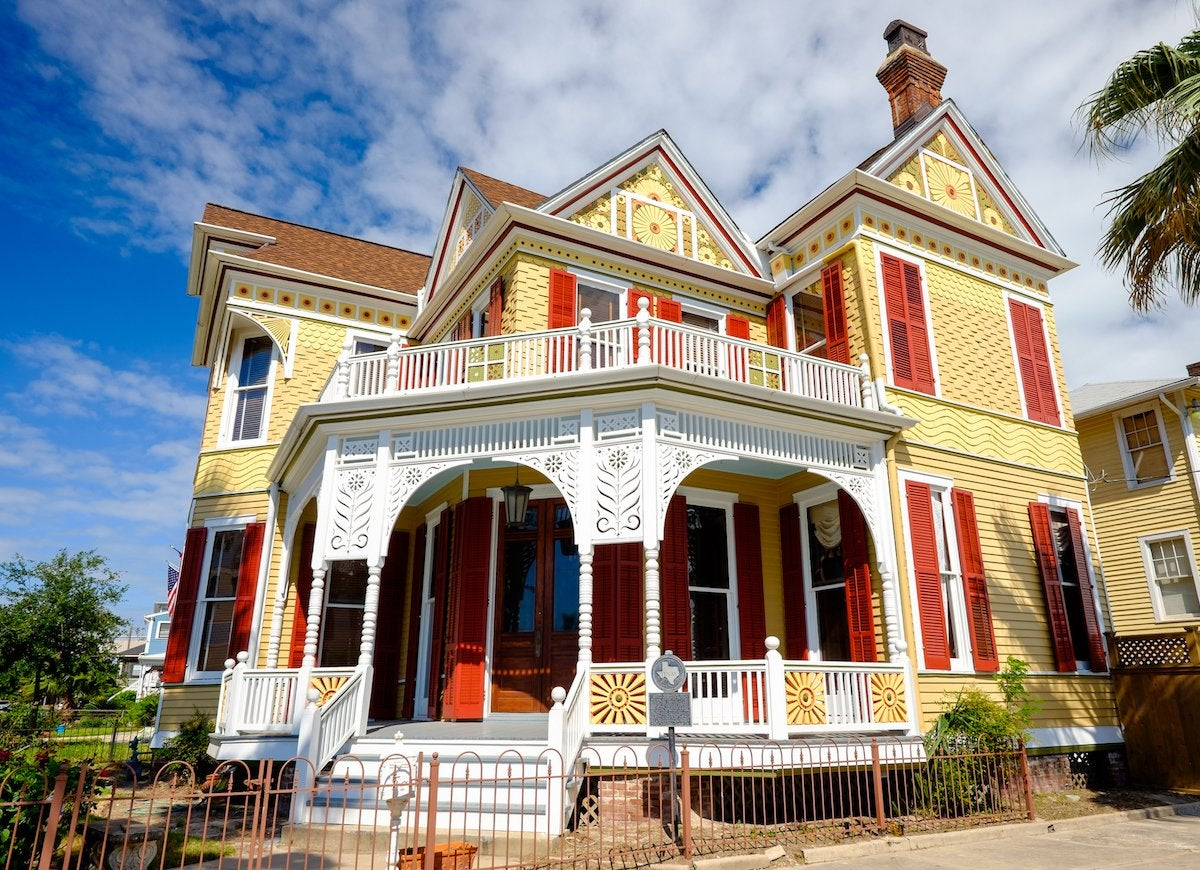 Red and yellow victorian