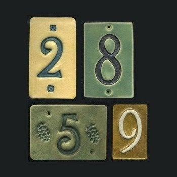 Ravenstonetiles-etsy-ceramic-house-number-tiles