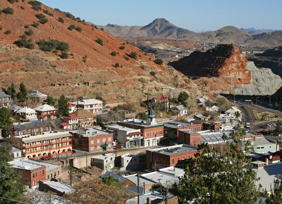 Tiny town bisbee arizona