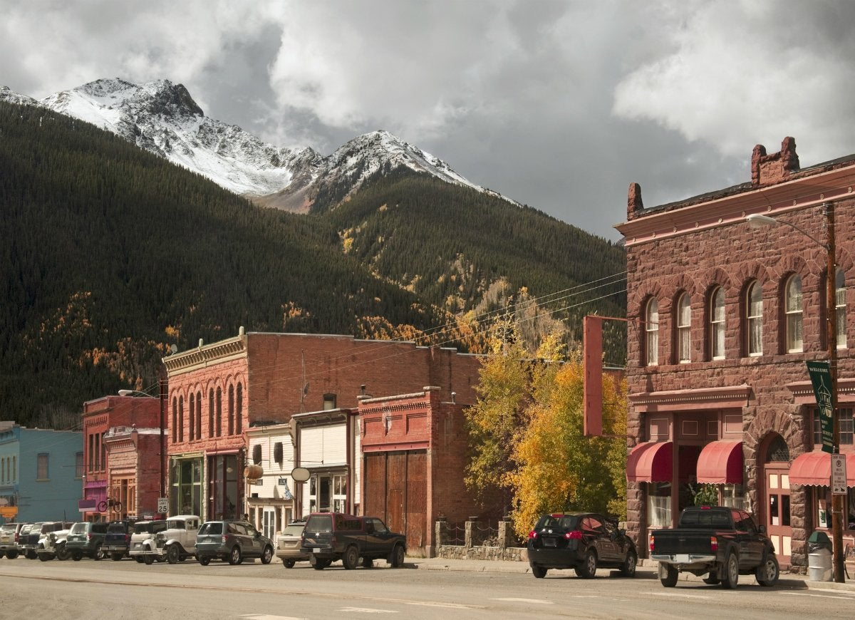Tiny town silverton colorado