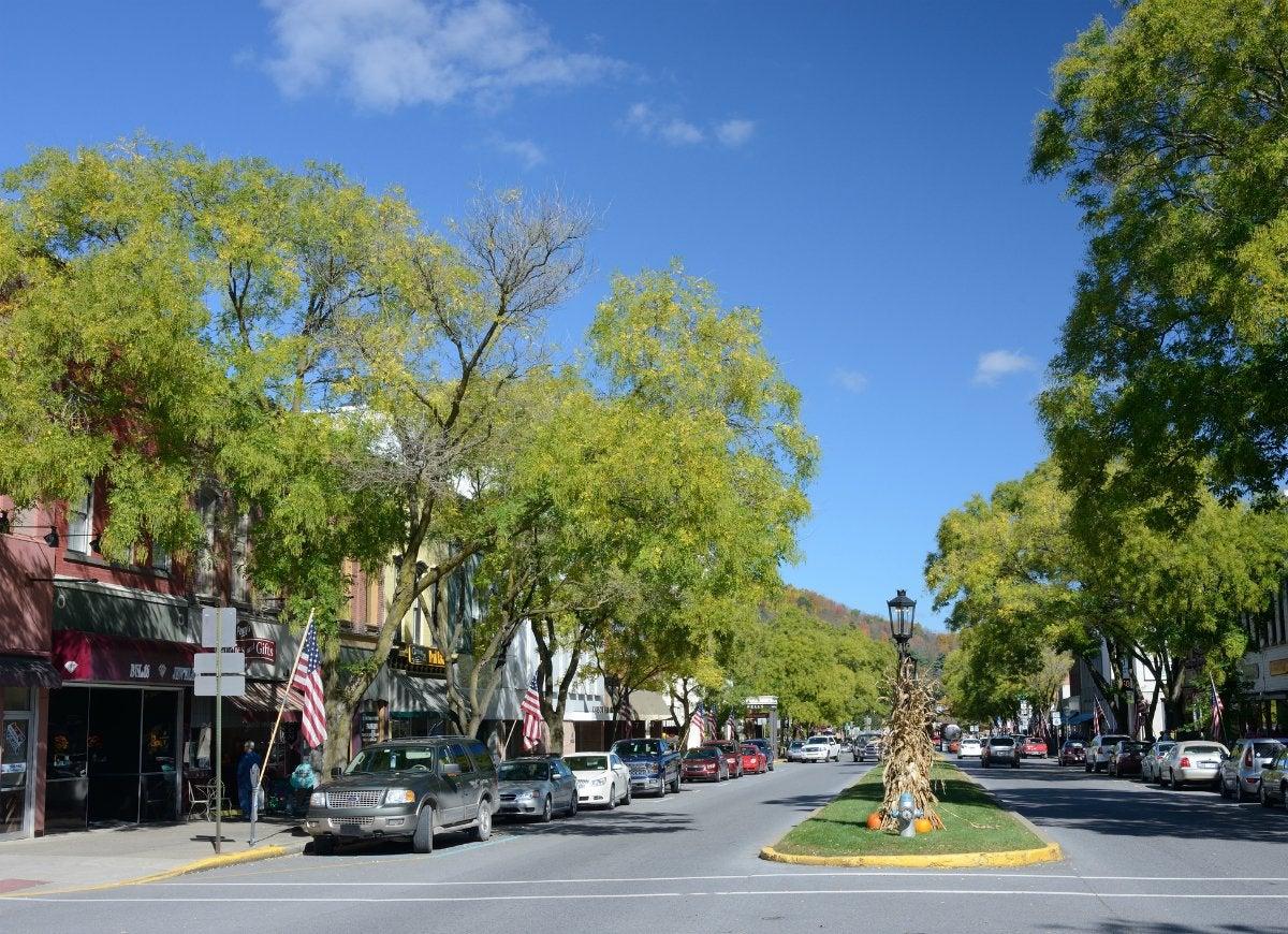 Tiny town wellsboro pennsylvania