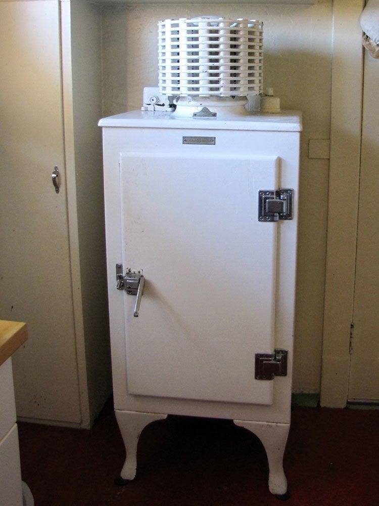 Monitor top fridge
