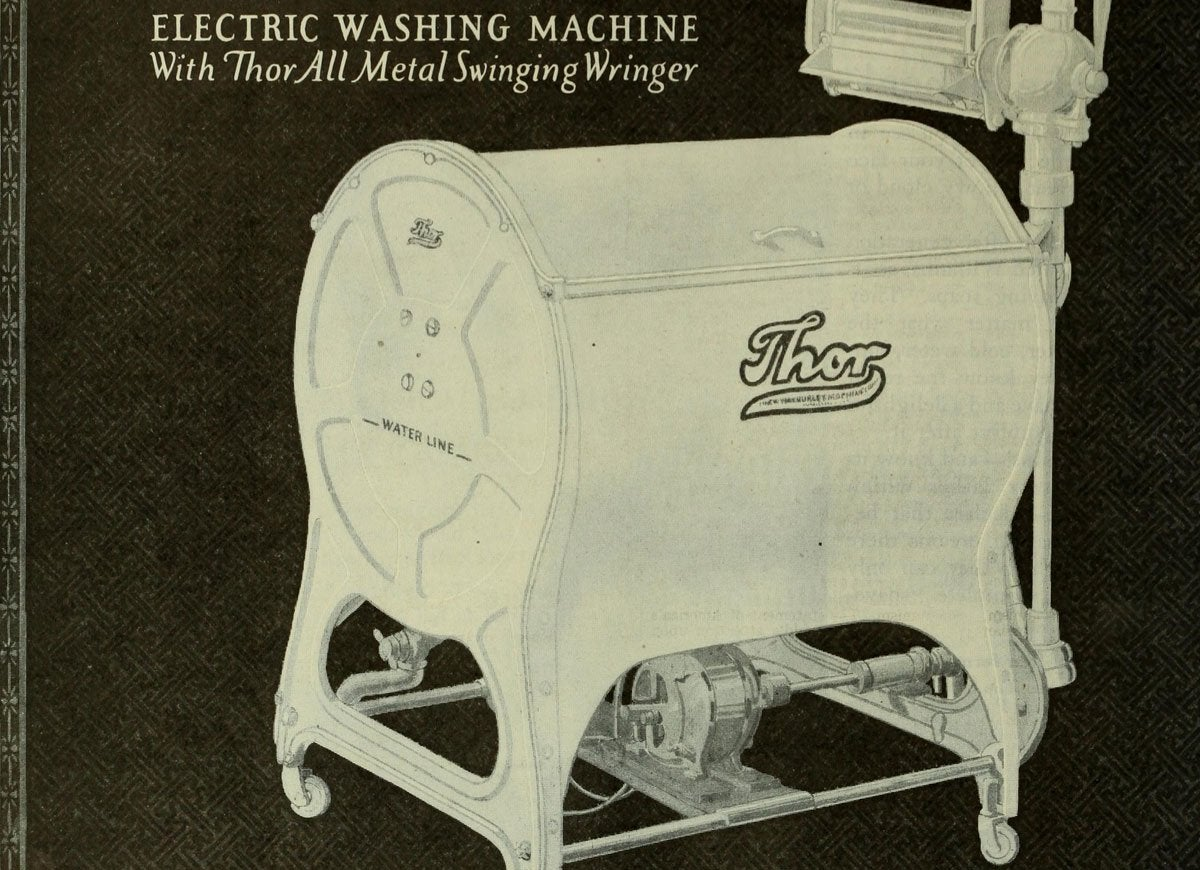 Thor washing machine