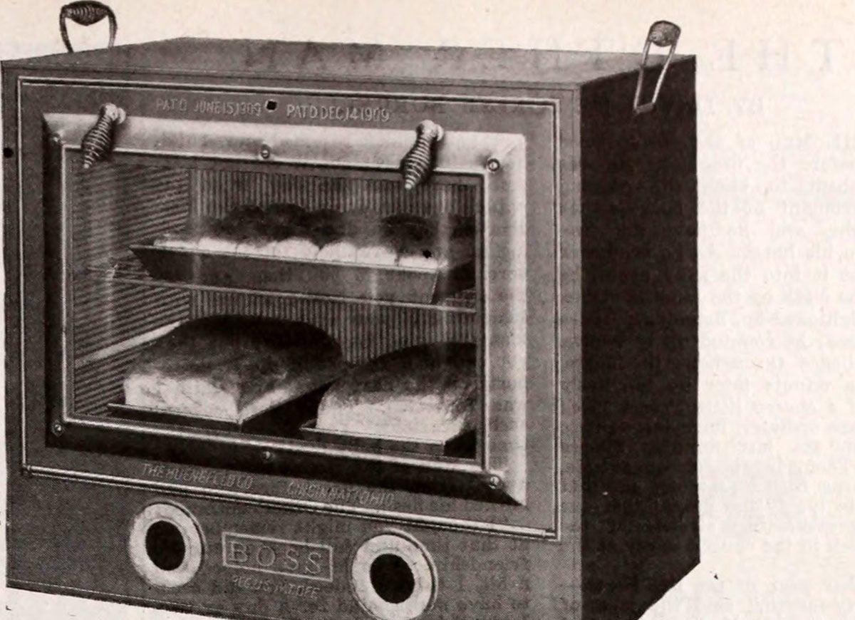 Boss glass oven