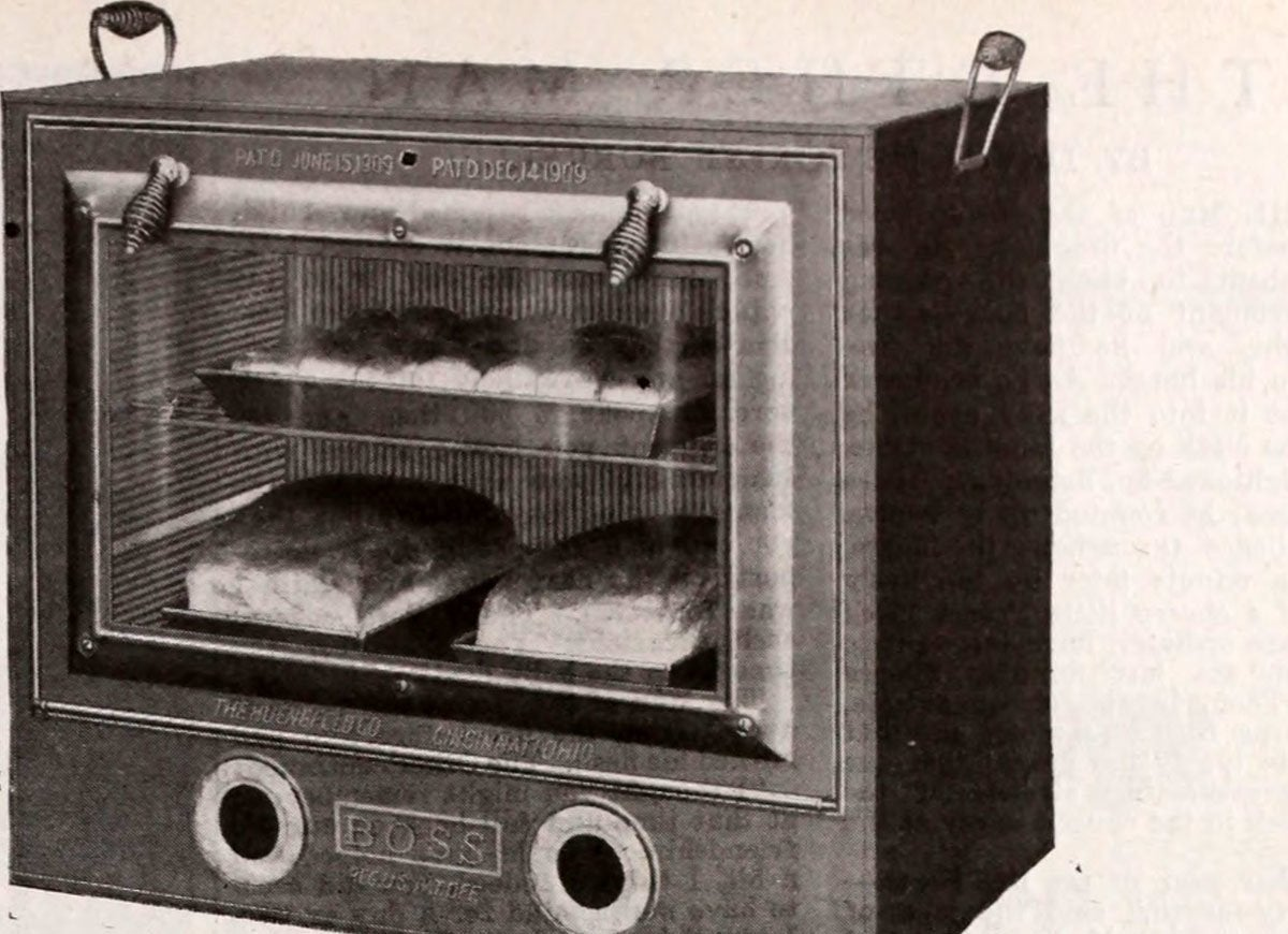 Boss glass oven