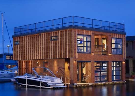 Lake Union Floating House