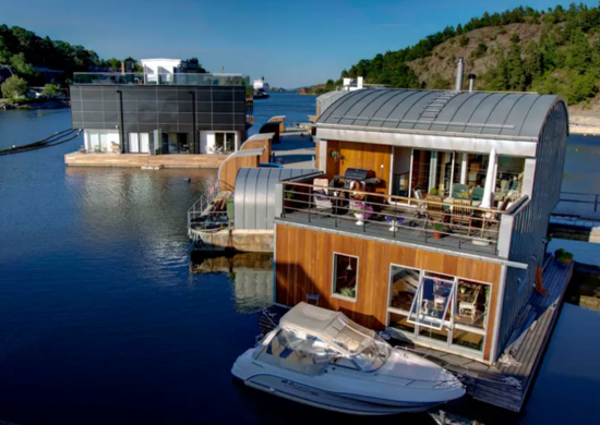 Swedish Floating Home