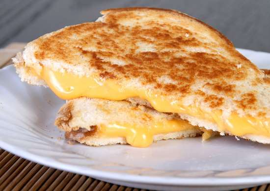 Grill Cheese with Coffee Maker