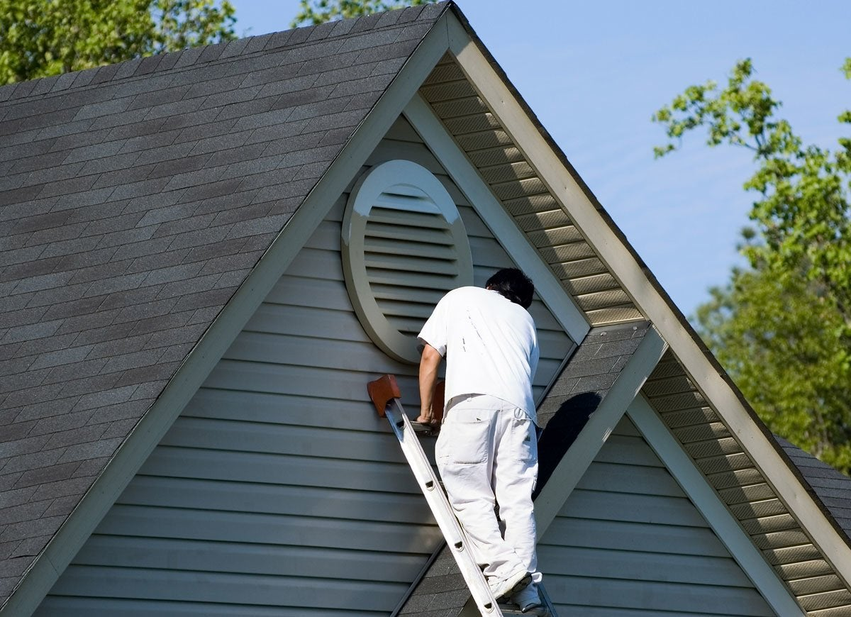 Exterior paint warranty