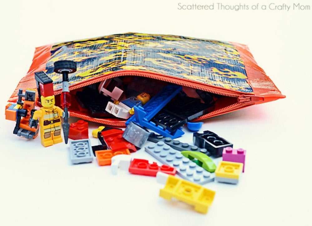Scattered thoughts zipper pouch 1