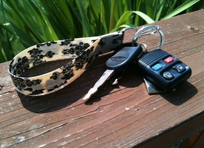 Duct Tape Keychain