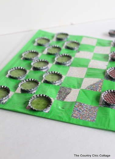 DIY Checker Pieces