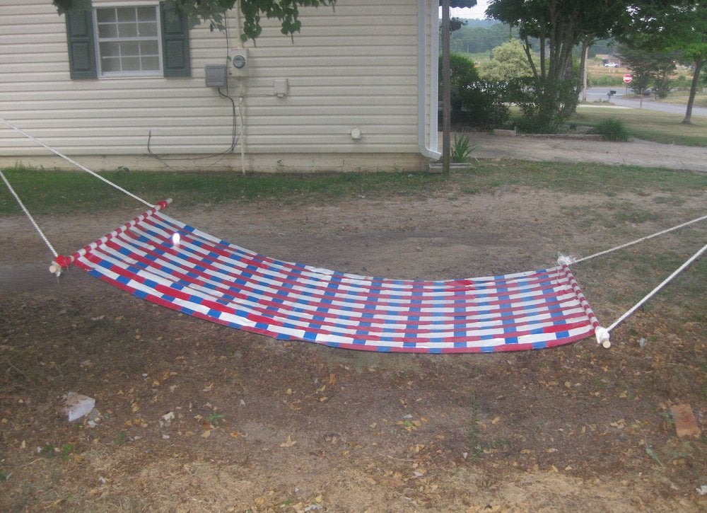 Instructables hammock
