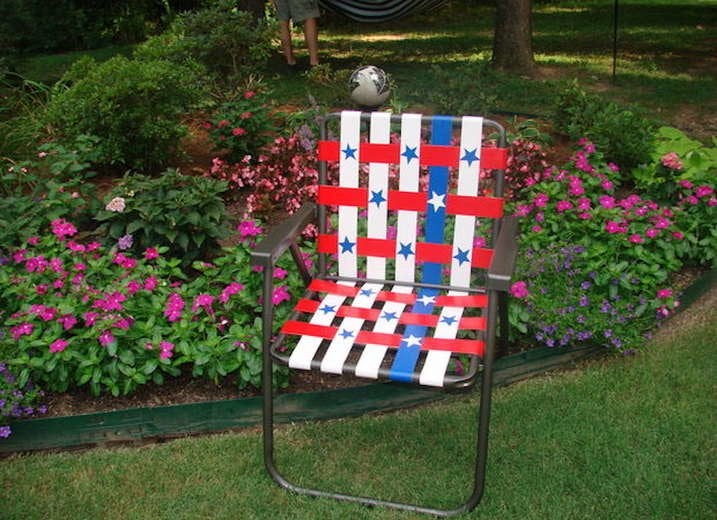 Duct Tape Lawn Chair