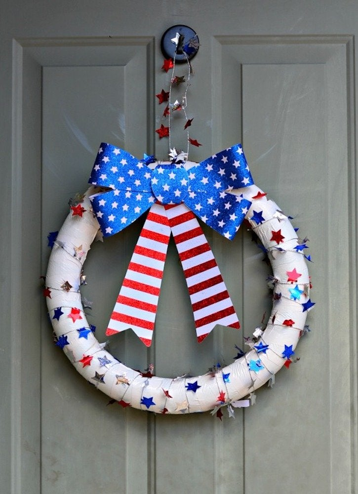 Growingupgabel patriotic wreath