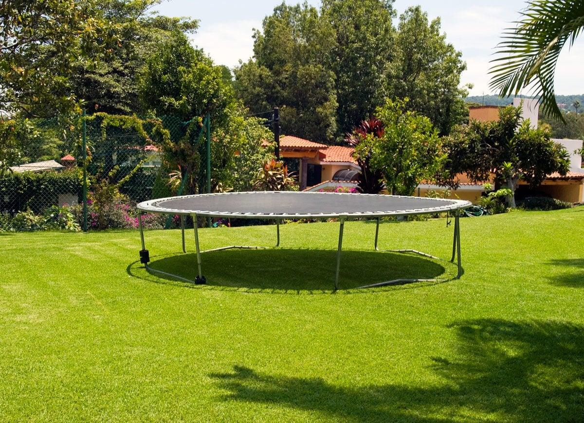 Insurance trampoline