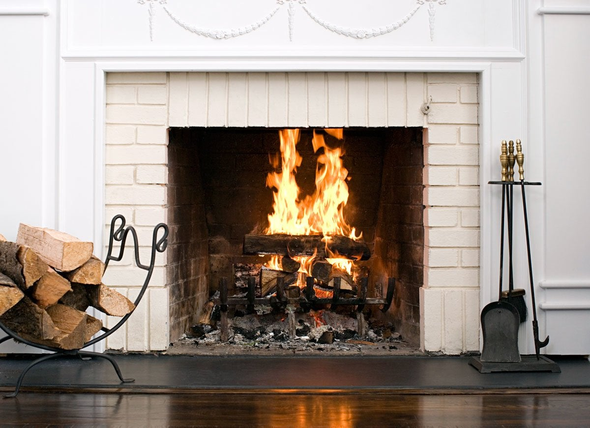 Insurance fireplace