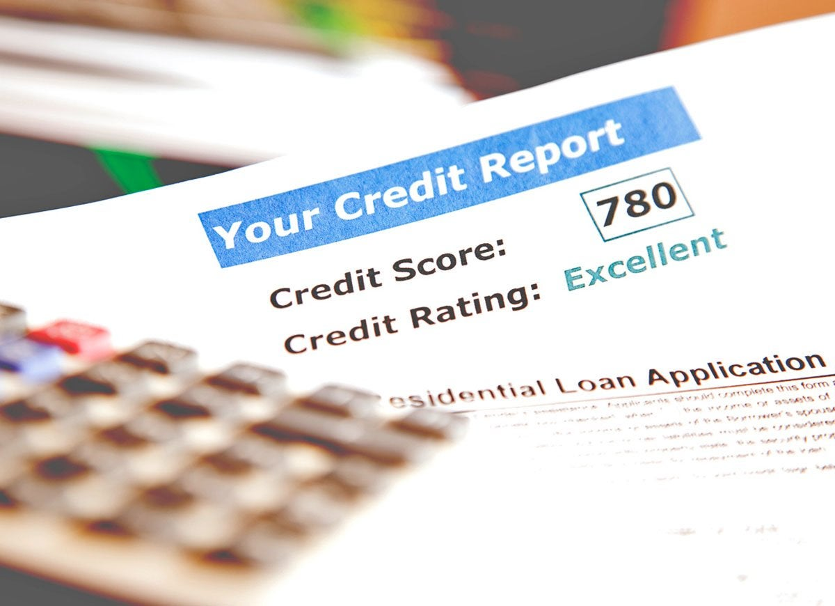 Insurance credit report