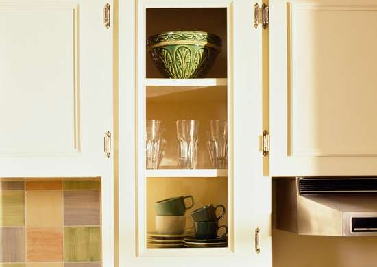 Opt for Glass-Front Cabinet Doors