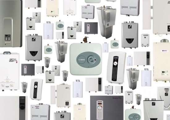 Tankless Water Heater Types