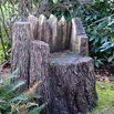 Tree Stump Lawn Chair