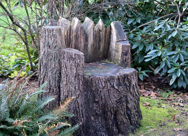 Tree Stump Lawn Chair