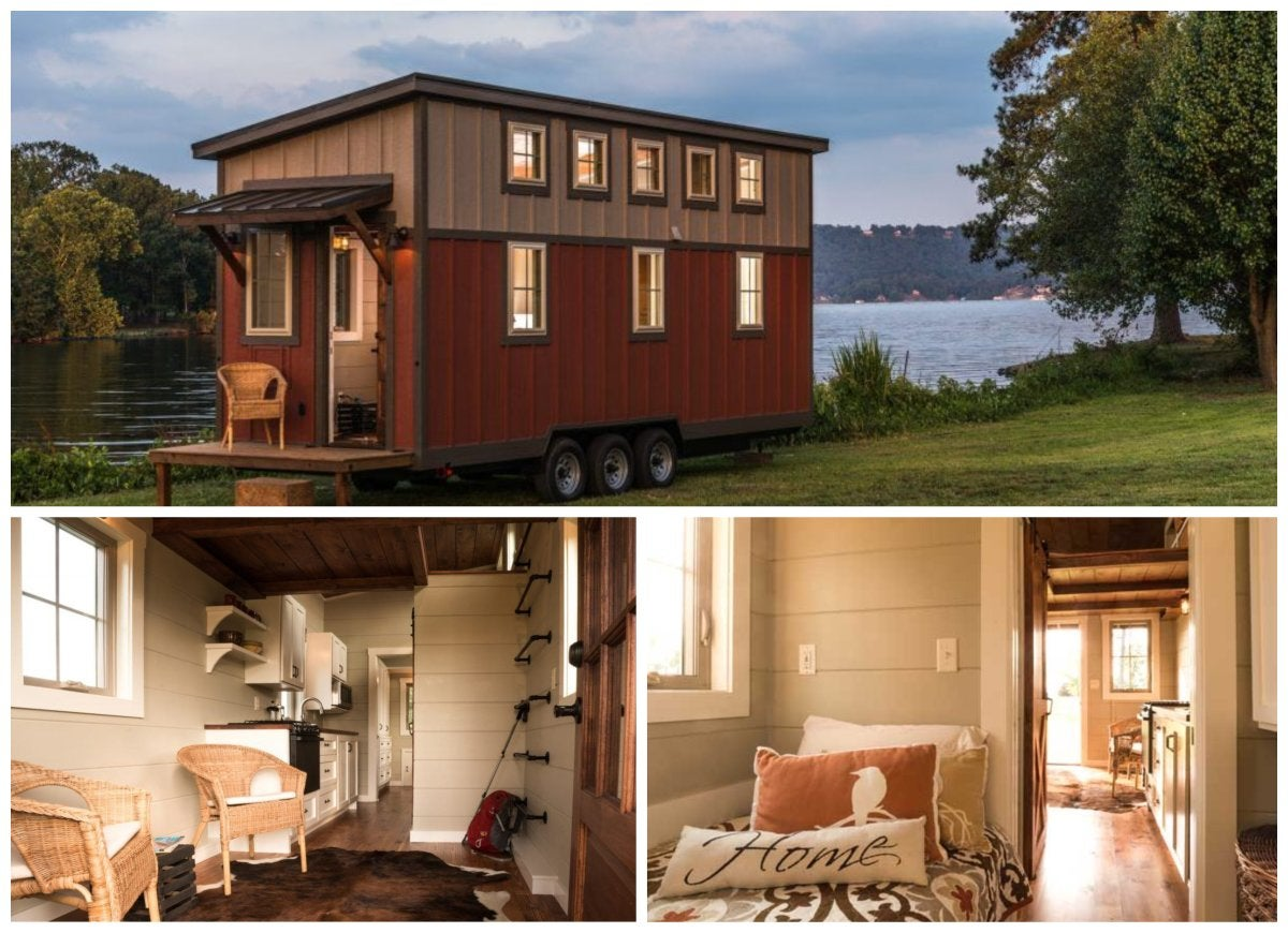 a home design building a tiny house cost or small house builder eyes The 18 Best Tiny Houses on Wheels
