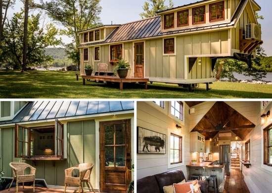 Double Loft Tiny House