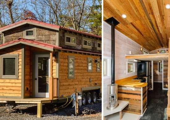 Reclaimed Wood Tiny House