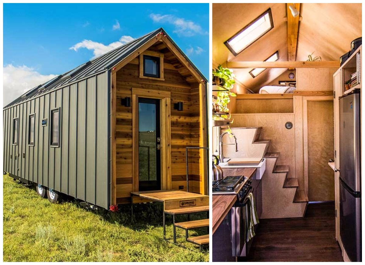 Modern tiny house tiny houses on wheels we love bob vila for Modern tiny homes on wheels