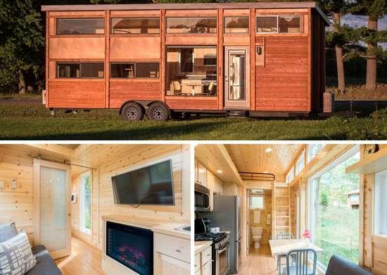 Cedar Siding Tiny House