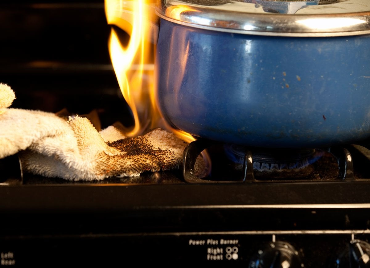 How To Prepare For A Home Kitchen Fire