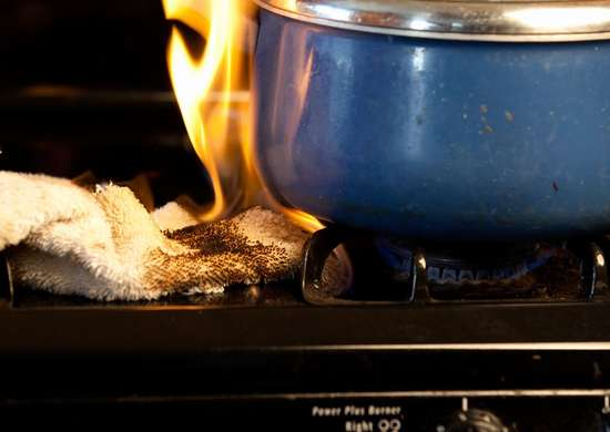 How to Prevent Fire When Cooking