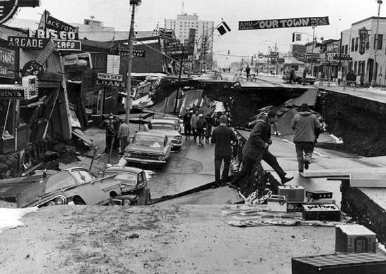Anchorage, Alaska Earthquake