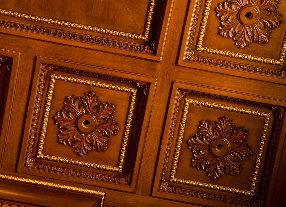 Unico outlets in wood panelling