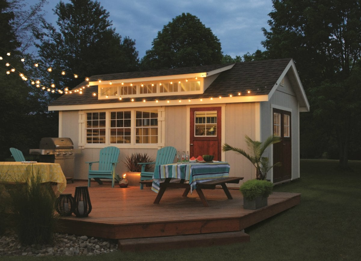 Decks match your shed to your home