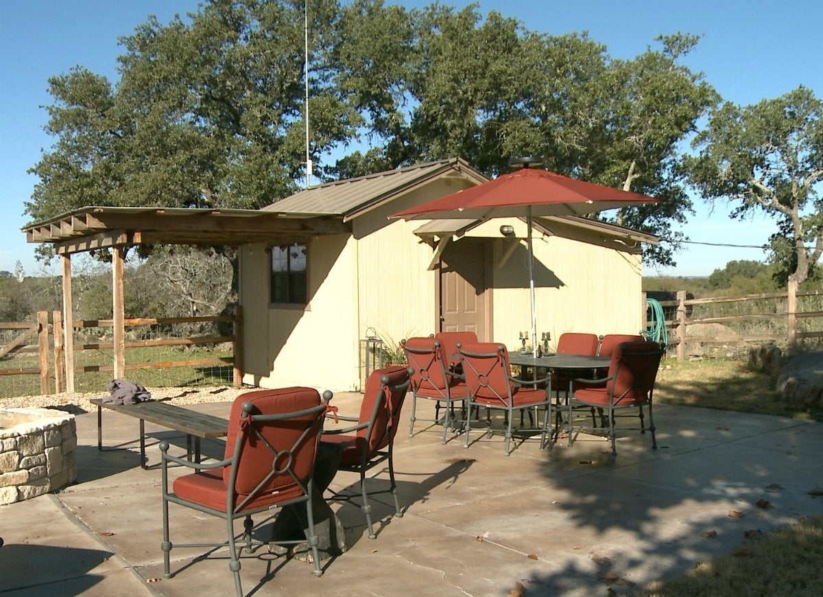 Awnings match your shed to your home