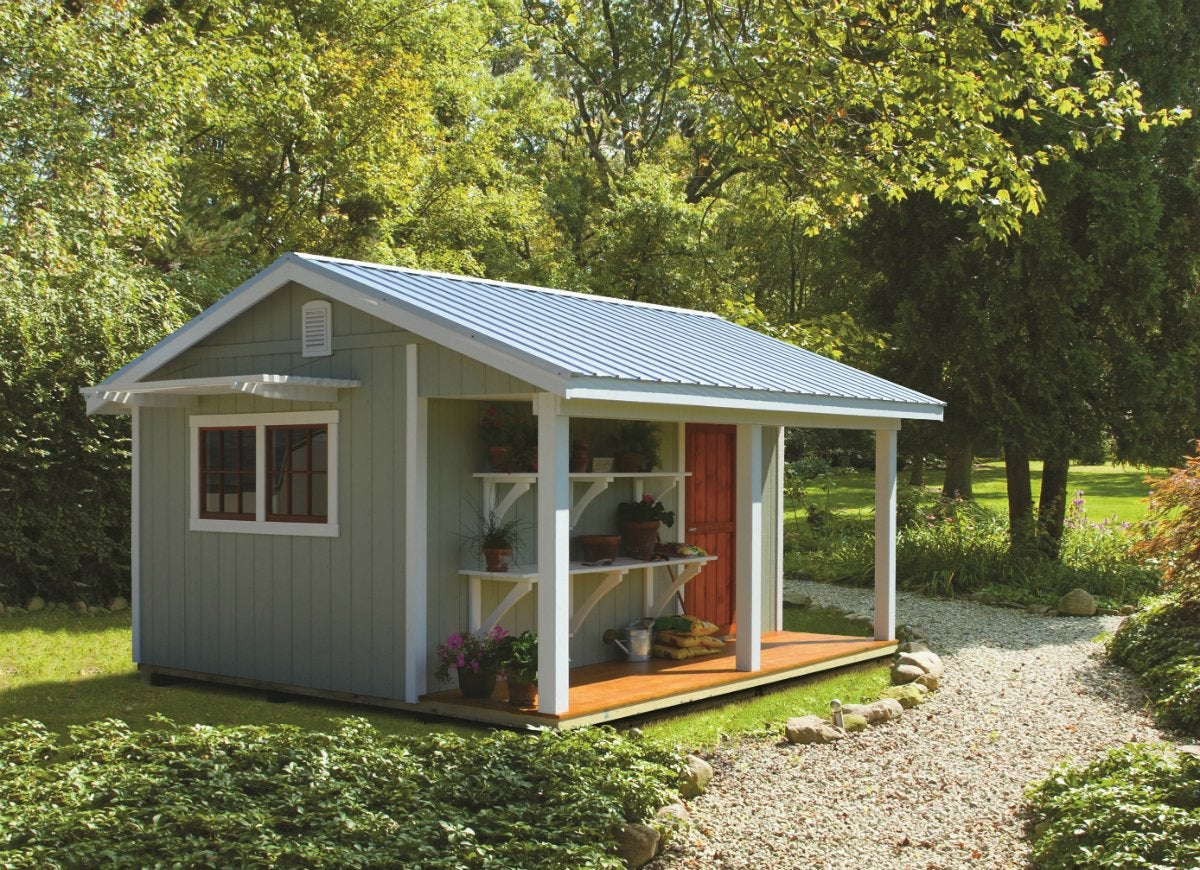 Trim match your shed to your home