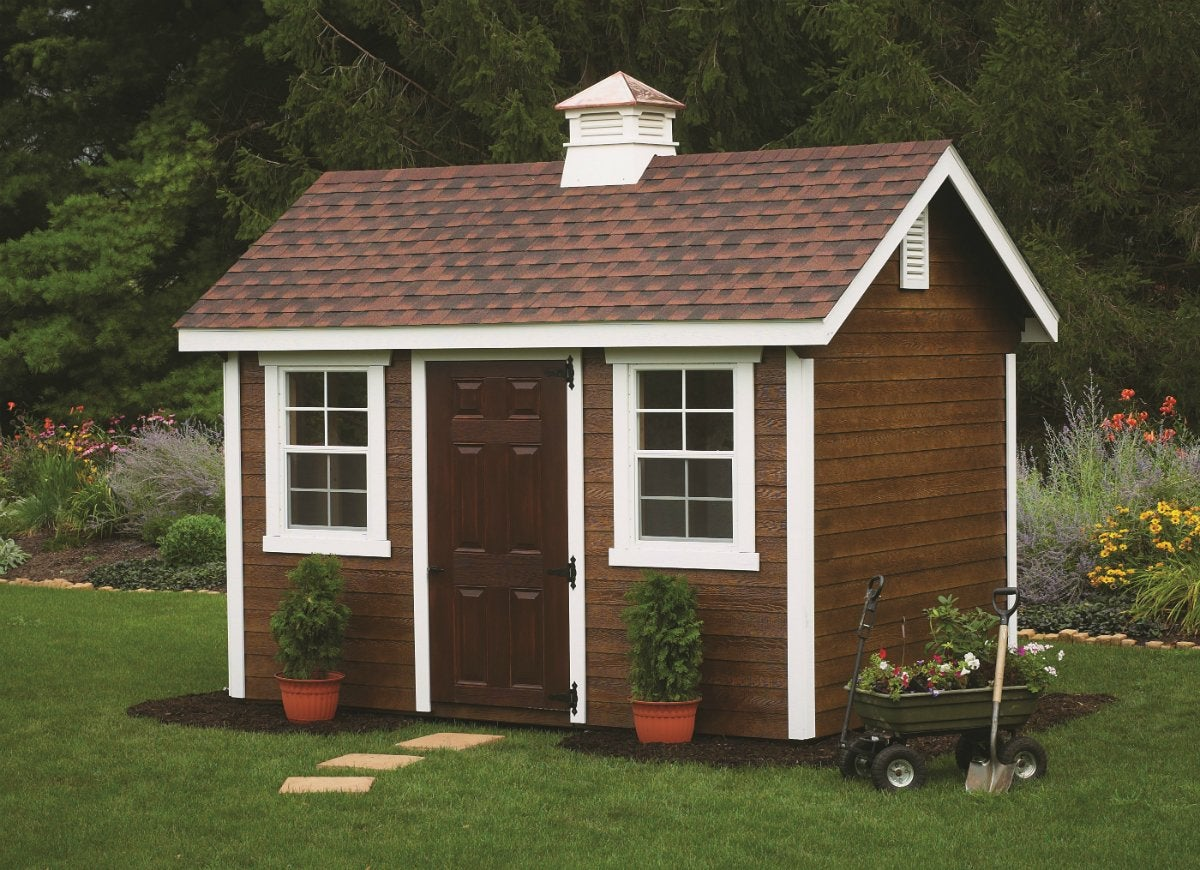 Hardware matches your shed to your home